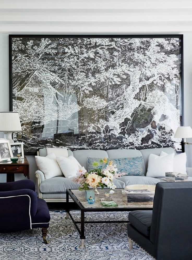 Best Living Rooms In Vogue Photos Large Scale ArtBeautiful