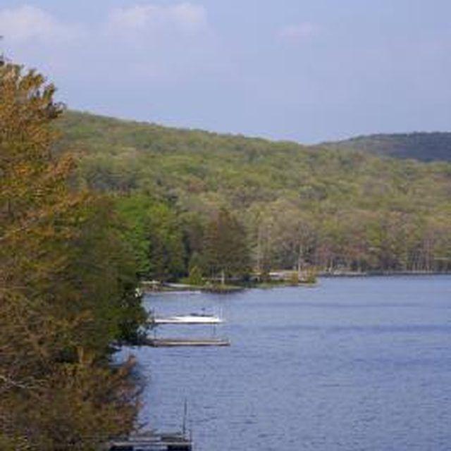 Deep Creek Lake has 65 miles of shoreline.