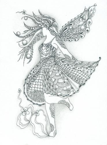 42 Best Zentangle Clothes Images On Pinterest