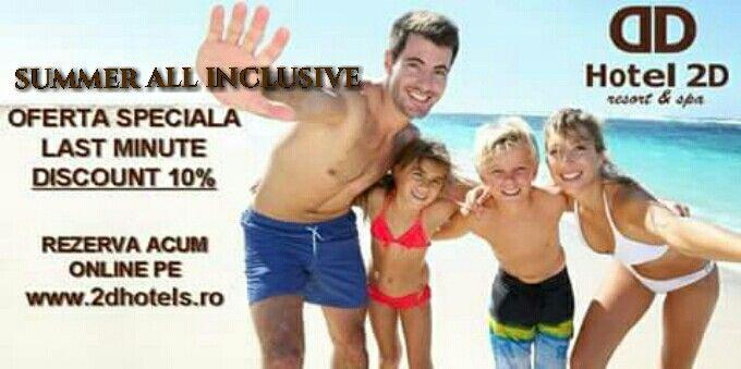 Doar 10 CAMERE disponibile pentru aceasta oferta pana la 1 august 2015.
