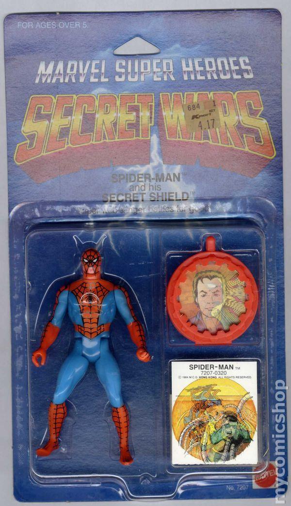 Marvel Super Heroes Secret Wars Action Figure (1984) ITEM#7207A