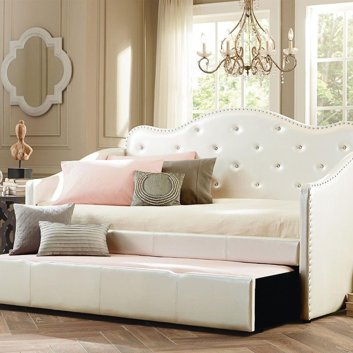 Caroline White Daybed With Trundle from Furniture To Love for $339.00