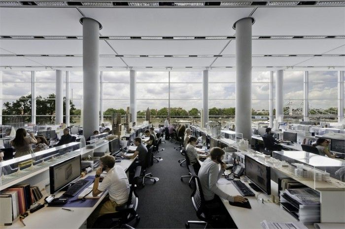 Inside of Foster + Partners HQ. The architecture firm of ...