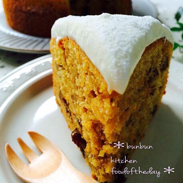 ケーキ レシピ キャロット