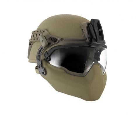 For anyone looking for a good helmet. Revision BatlSkin Viper A1/P2 Complete System at Black Ops Shop
