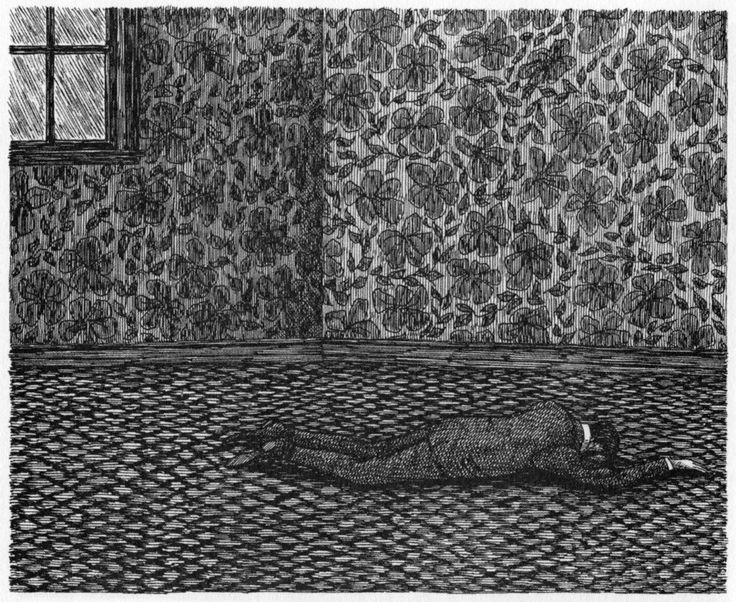 """From """"The West Wing"""" by Edward Gorey"""