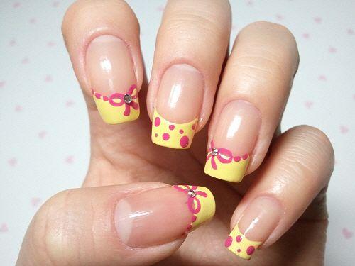 Cute Korean Nail Art : Korean nail art nails city cute perfect