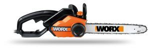 2. Worx 16-Inch Corded Electric Chainsaw