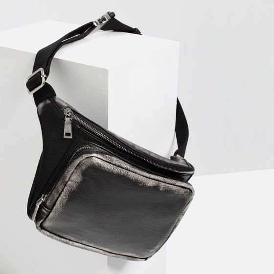 Image 3 of DISTRESSED EFFECT BELT BAG from Zara