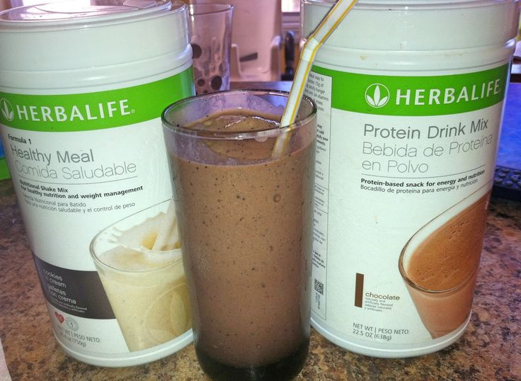 Mudslide Herbalife shake- Cookies and Cream  F1, Chocolate Protein, 1/2 T coffee ground, 1 tsp chocolate pudding mix, 1c water,1 c ice and blend