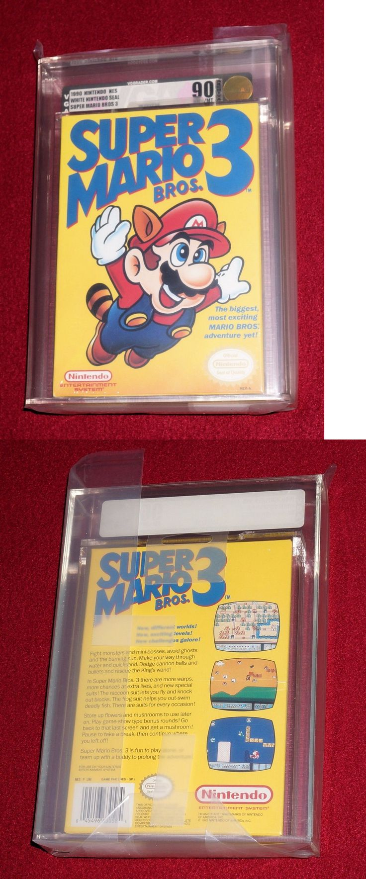 Video Gaming: Super Mario Bros. 3, New Sealed! Nintendo Nes Vga 90! -> BUY IT NOW ONLY: $1999.99 on eBay!
