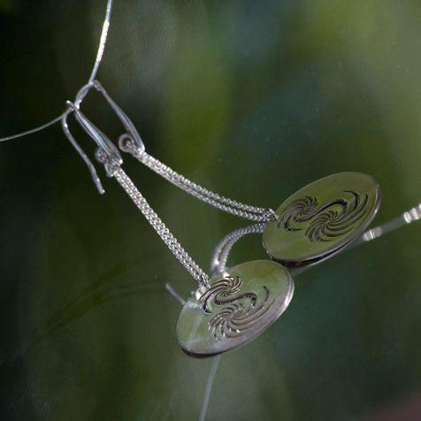 Silver earrings by Nadia Zenato Jewelry