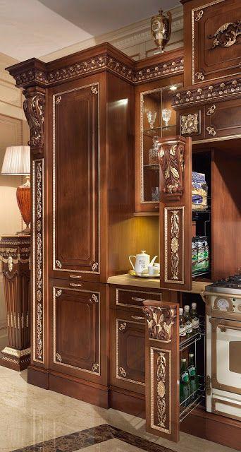 дневник дизайнера: Элитные итальянские кухни Francesco Molon - дворцовая роскошь!