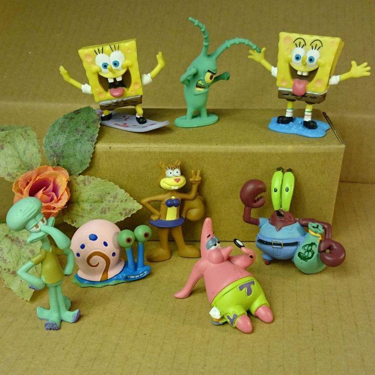 Aliexpress Com Buy Spongebob Patrick Star 8pcs Set Dolls