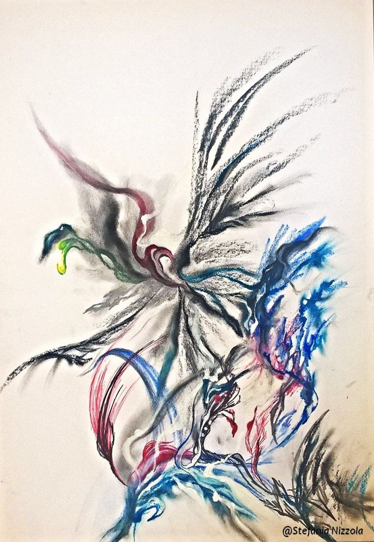 Penna bic, gessetti e pastelli a olio su cartoncino A3, 2016