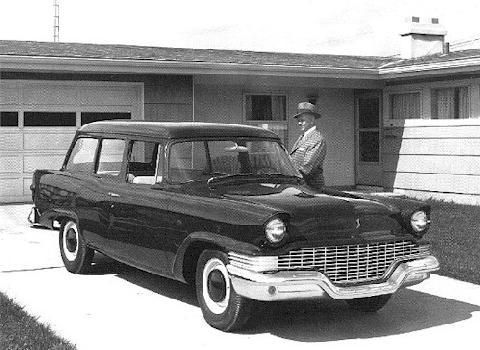 1957 Studebaker Champion Scotsman Wagon Bw