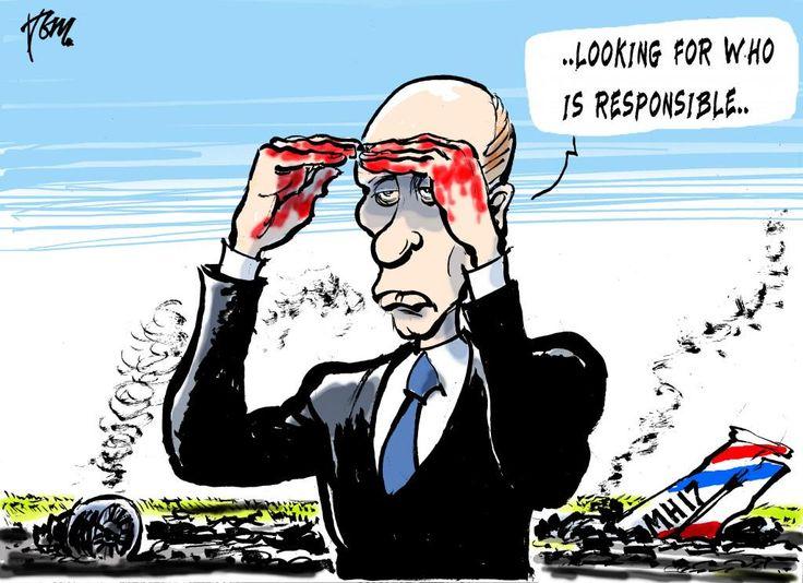 Bildergebnis für times caricature putin and ukrainian plane cockpit