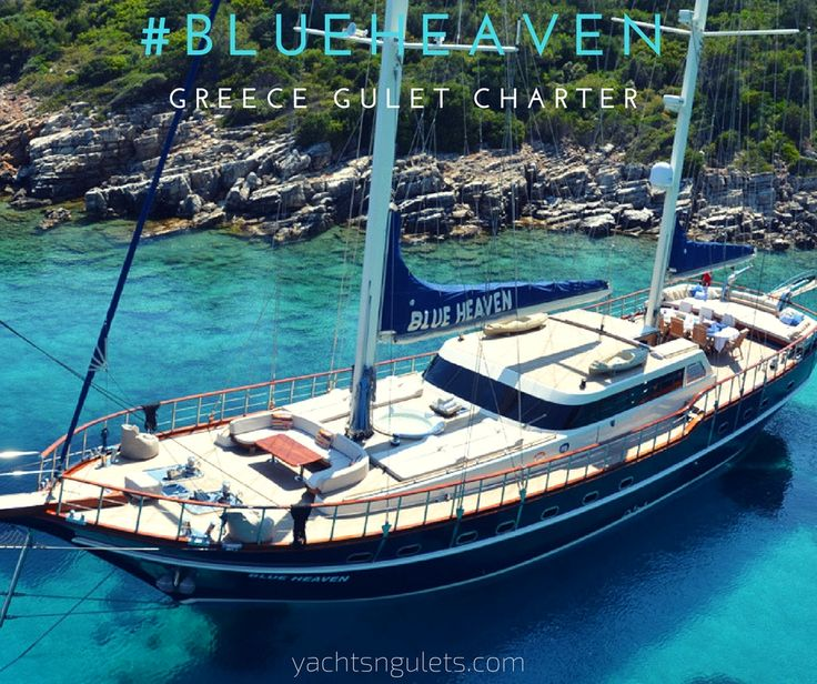 #premium #gulet #blueheaven. sleeps 9 #instyle #charter for #greece #islandhopping in the #dodecanese. see more
