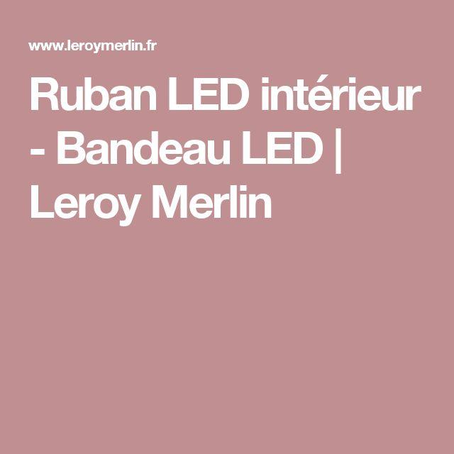 25 best ideas about bandeau led on pinterest rail tiroir escaliers modernes and bureau de - Canvas leroy merlin ...
