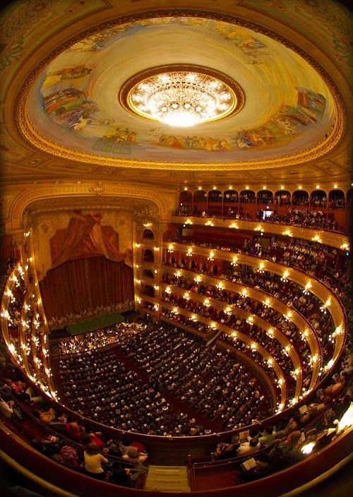 Teatro Colon, Buenos Aires - acoustically one of the top five theatres in the world for concerts.