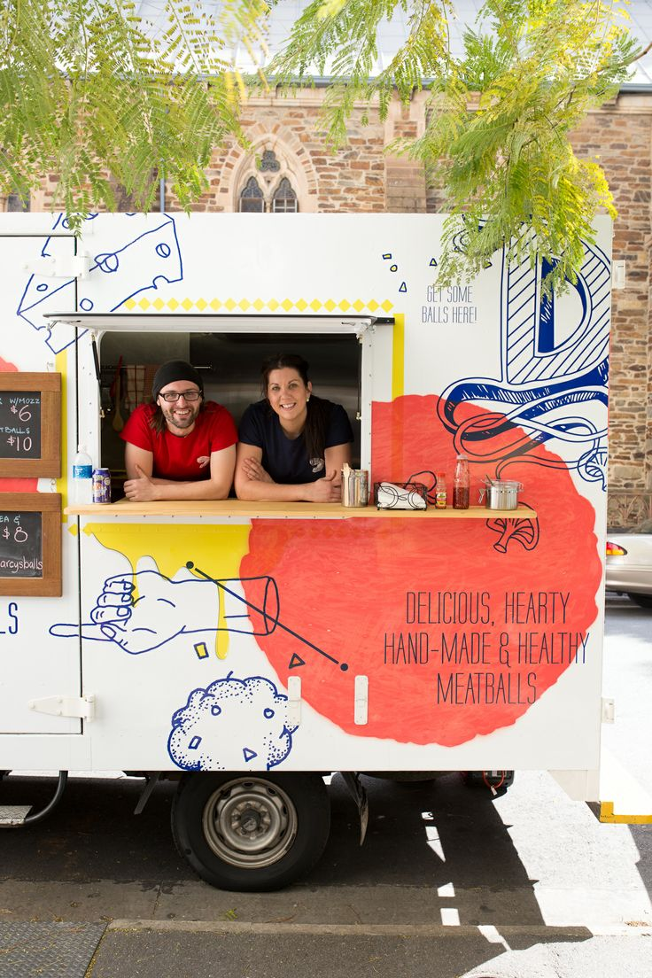Adelaide food truck Delectaballs. Photo by Andre Castellucci. As seen in the Adelaide* magazine November 2013 Food Issue. #food #SouthAustralia #Adelaide