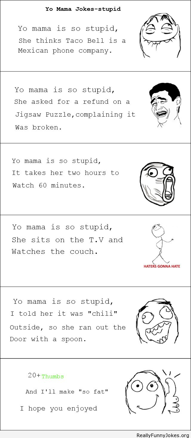 Best of yo moma jokes
