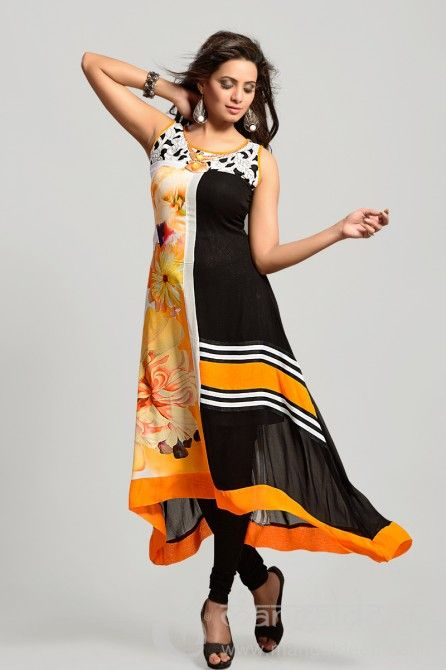 http://www.mangaldeep.co.in/latest-kurties/ravishing-black-and-off-white-ready-made-party-wear-kurti-5229 For further inquiry whatsapp or call at +919377222211