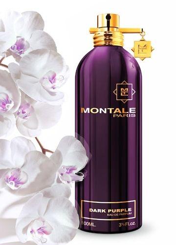 """Dark Purple MONTALE to najbardziej """"francuski"""" zapach z kolekcji Montale. W nutach głowy zawiera śliwkę i świeżą pomarańczę. W sercu znajdują się płatki róży, geranium bourbon, liście paczuli i czerwone owoce, a baza kryje szarą ambrę, drzewo tekowe i zmysłowe białe piżmo. Wybitnie zmysłowy i kobiecy zapach. Rodzina zapachowa: kwiatowo-orientalna #montale"""