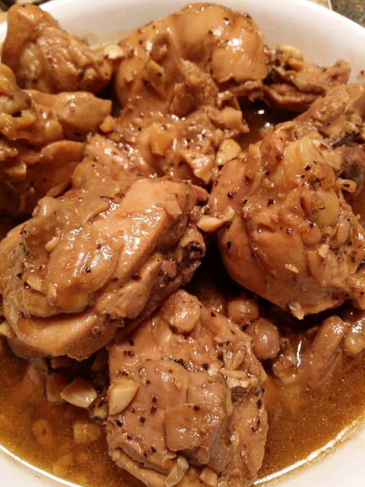 Here is another version of the ever popular Chamorro favorite, Chicken estufau or stufau (as said on the islands). Allowing the chicken to marinate for at least an hour, makes for a tasty, braised ...