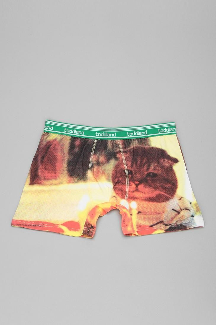 Kitty birthday boxer brief from toddland - very important. #urbanoutfitters