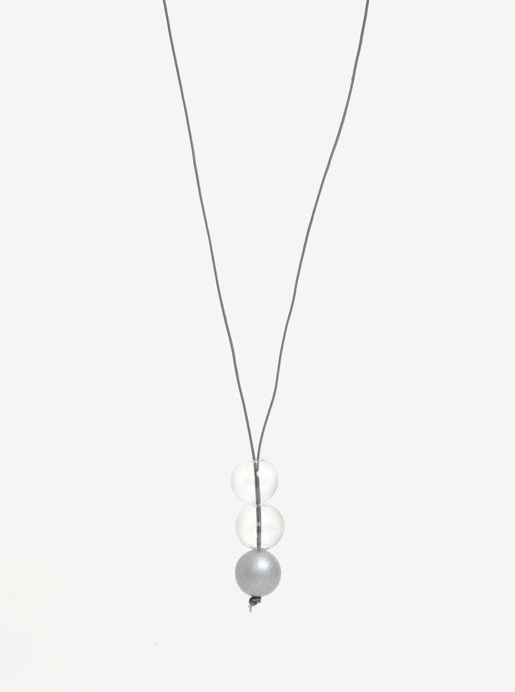Spojení skla a dřeva.Elegance zahalená do jemnosti a decentního provedení vás okouzlí.Typ:náhrdelník z jednoho dřevěného, mořeného a...