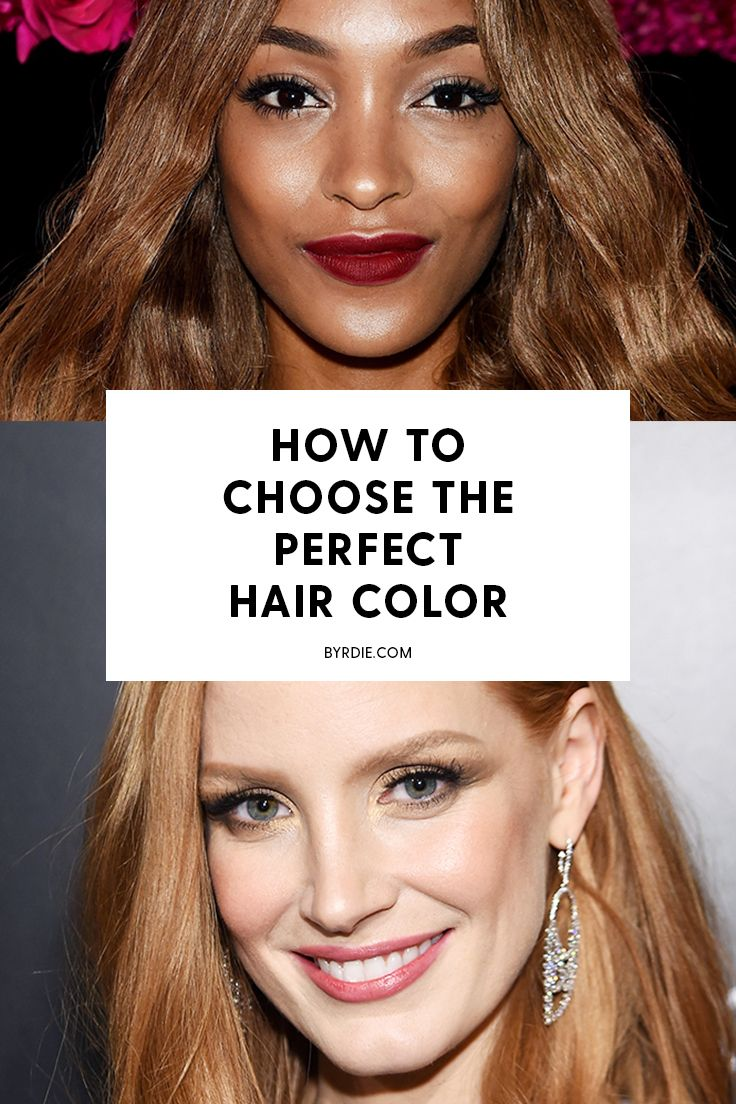 This Handy Chart Makes Choosing a Hair Color So Easy Red