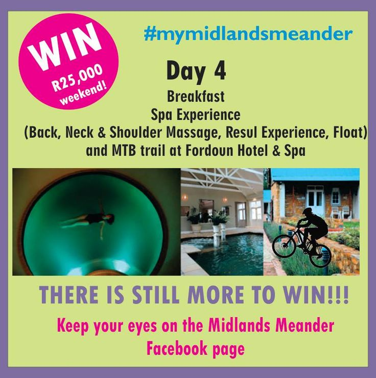 Win an epic weekend on the Midlands Meander worth R25,000! Simply upload a short video of your Midlands Meander fun with #mymidlandsmeander to Instagram or YouTube. Visit www.midlandsmeander.co.za/my-midlands-meander for full details.
