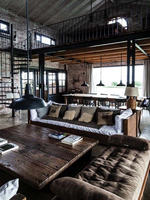 Historic railway shed in Argentina gets converted into a family home