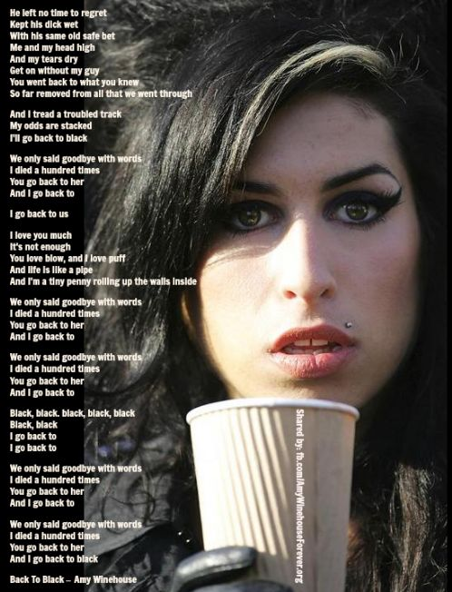 A song for you lyrics amy