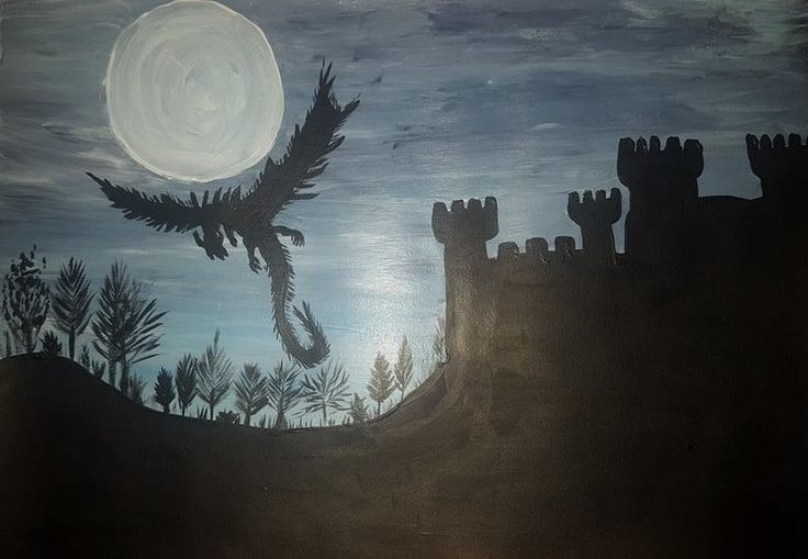 Entry 27: 'Dragon' by Nita Thomas, adult #dragons #art