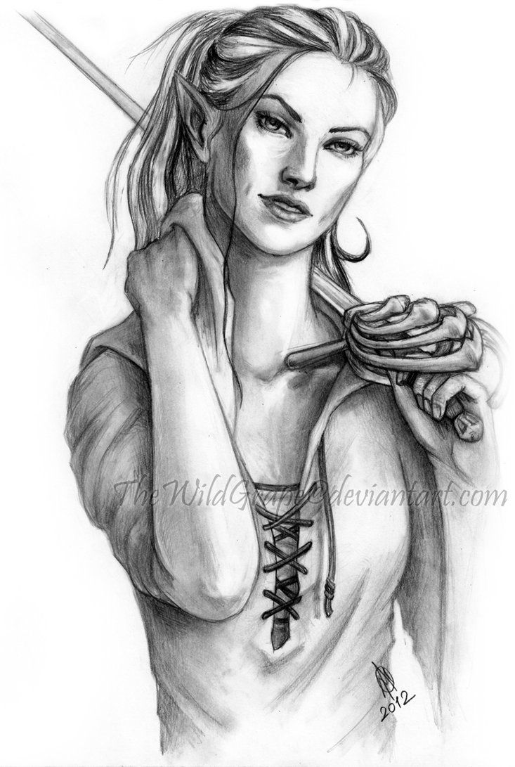 Aelin<- this is probably one of the best drawings I've found and is nearly exactly how I pictured her