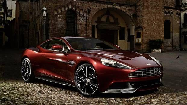 10 Top Luxury Car Brands ASTON MARTIN VANQUISH