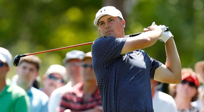 Jordan Spieth made a 30-foot birdie putt on the third playoff hole to beat Patrick Reed and Sean O'Hair.