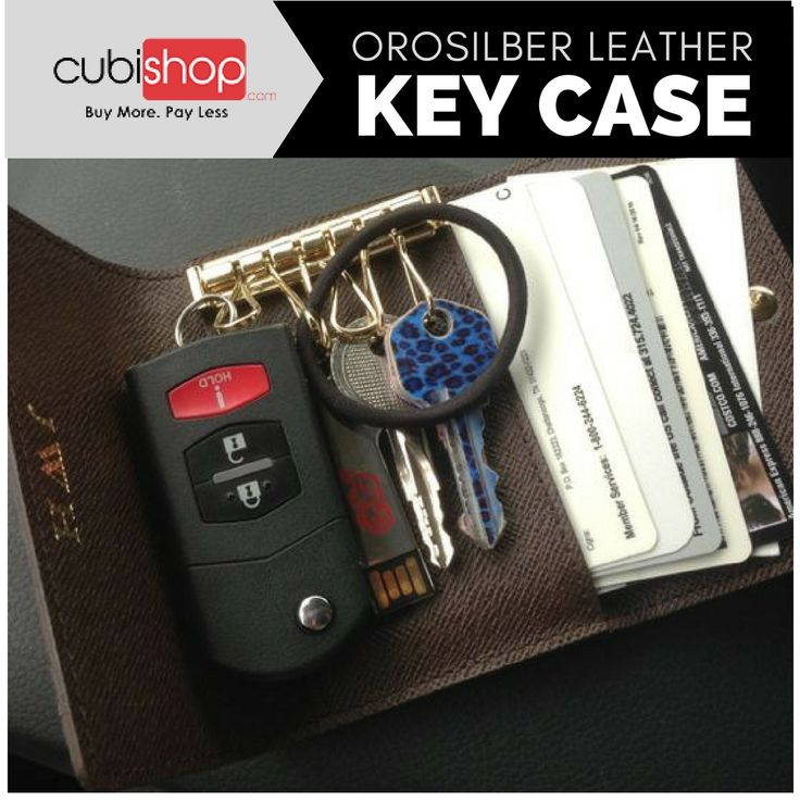 Buy #Orosilber Leather #KeyCase #wallet with a modern look at lowest price from #CubiShop