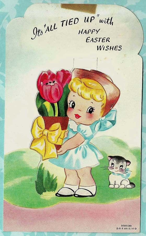 It's all tied up with #Easter wishes  #Tulips #Girl