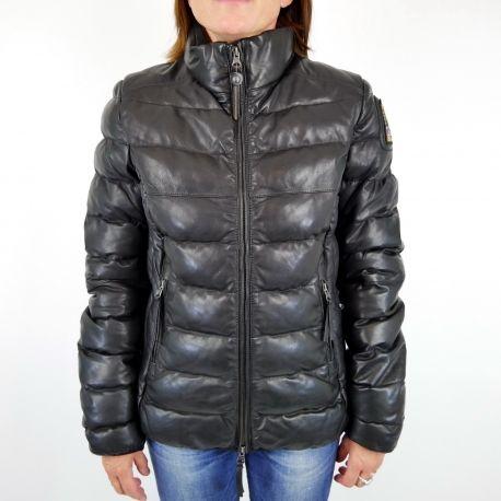 doudoune cuir Parajumpers femme disponible chez www.algorithmelaloggia.com