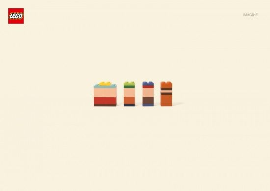 The German agency Jung von Matt had the great idea to play our imagination to show the power of the Lego brand. By dialing a minimalist known fictional characters of all, the visuals are to be discovered later in the article.