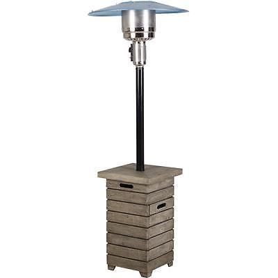 Clean lines, traditional style and updated wood look in the Alondra Park Collection lends itself to any backyard style. The Alondra Park Patio Heater pulls the whole outdoor living space together with great warmth and simplistic style. | eBay!