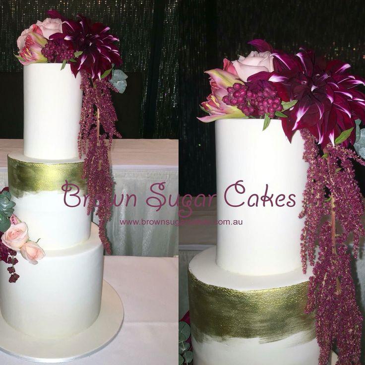 #Wedding cake #Brownsugarcakes