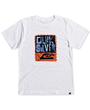 Quiksilver Graphic-Print Cotton T-Shirt, Toddler Boys (2T-5T) - White 2T