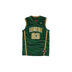 the latest 6ac93 6cf72 nike air king 23 lebron james green jersey