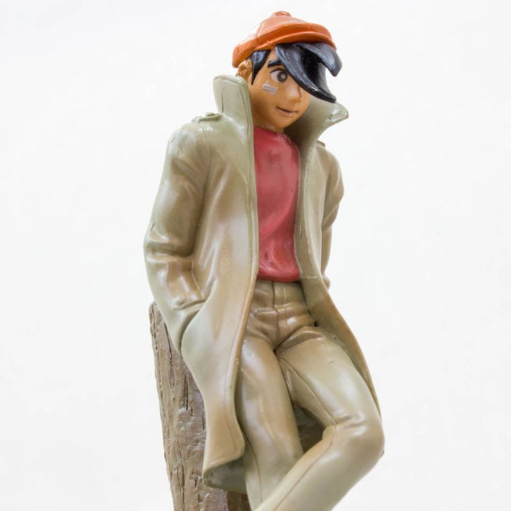 RARE! Ashita no Joe Yabuki Figure Music Box ED Theme song JAPAN ANIME MANGA
