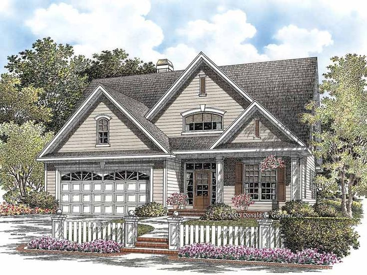 Eplans Country House Plan Spacious Cottage 2264 Square