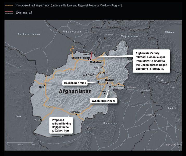 Afganistán es uno de esos lugares del planeta donde es mejor no nacer. Pobreza extrema, analfabetismo generalizado, corrupción política endémica, un clima de violencia perpetua y el peso de la tradición y la religión son algunas de sus señas. Sin embargo, caprichos de la naturaleza, el país centroasiático esconde en su subsuelo una reserva mineral …